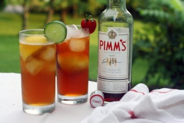 Anyone for Pimm's?