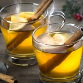 Warm your cockles on a cold Autumn weekend with a Hot Gin Toddy – a hug in a mug!