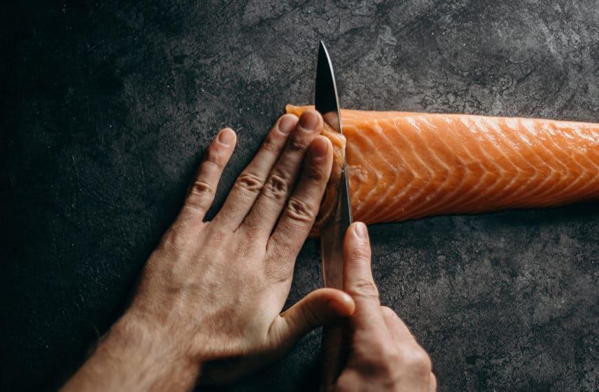 Gin baked salmon: full of buttery, juniper goodness