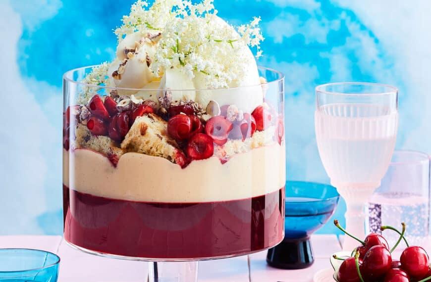 Matt Preston's boozy Christmas trifle: it's gin time!