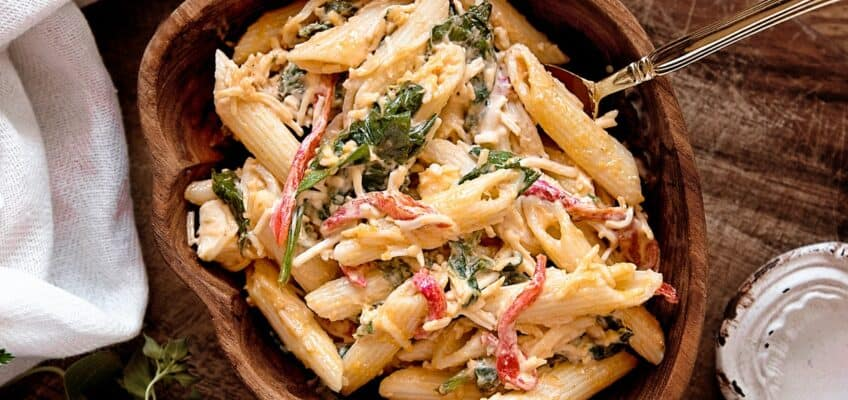 penne with gin