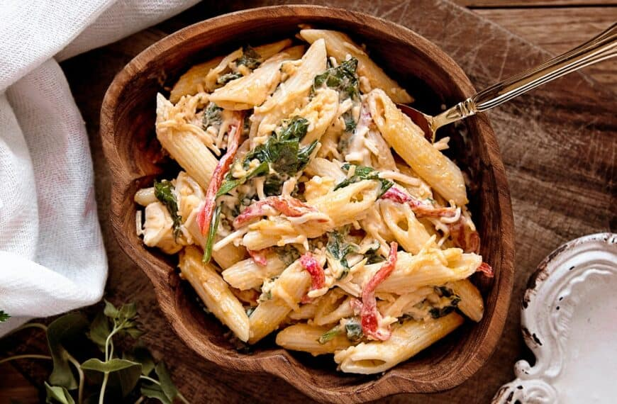 The Italian Job: penne pasta with gin
