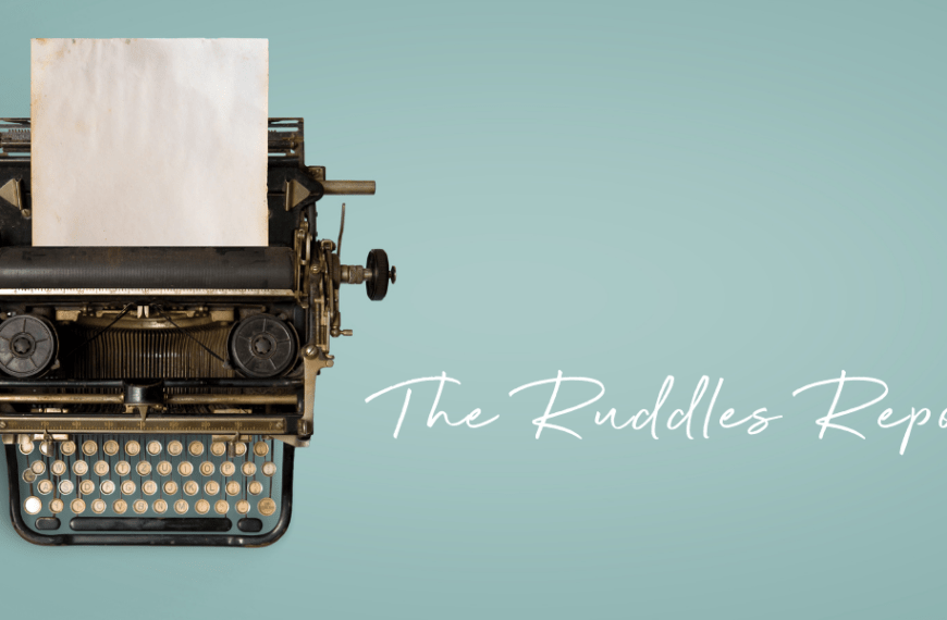 The Ruddles Report: March gin news!