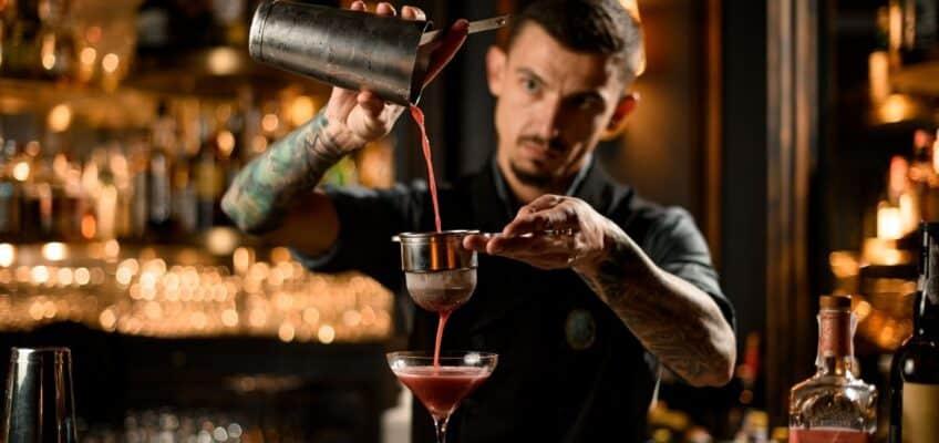 Barrel-aged gin cocktail