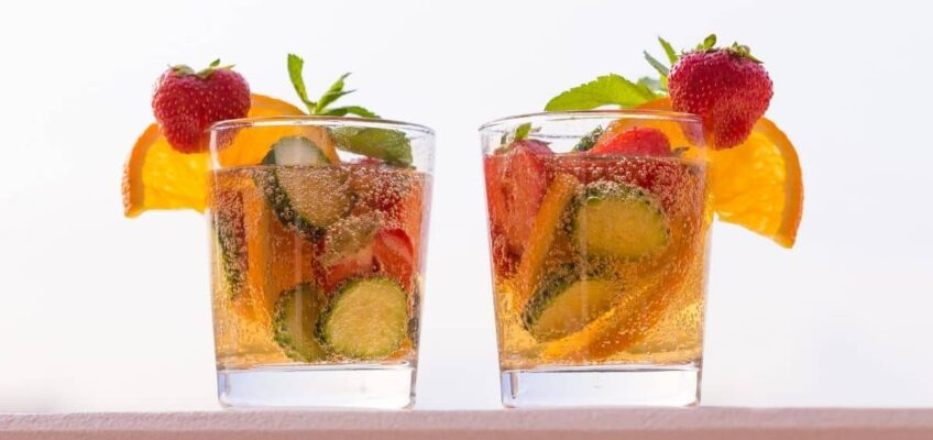 home-made pimms