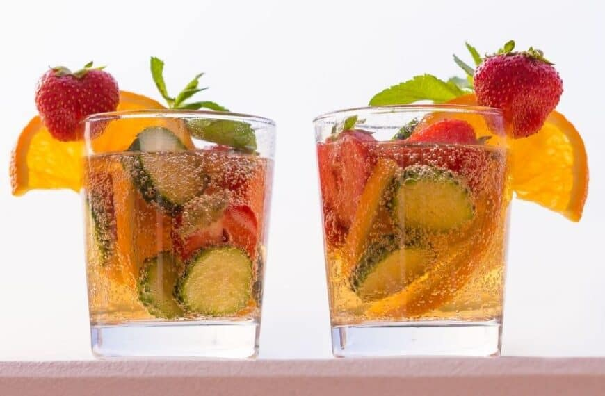 Home-made Pimms – put a little sunshine in your life